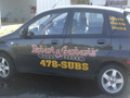 Vinyl Lettering on Fleet Vehicles